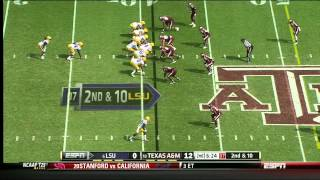 Damontre Moore vs LSU (2012)