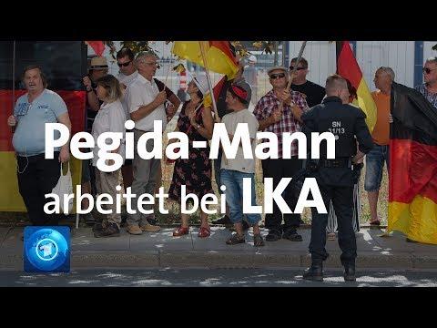 Zwischenfall bei Pegida-Kundgebung: Mann ist LKA-Mitarbeiter