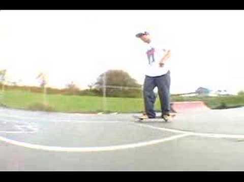 skatin the mahopac 'skatepark'