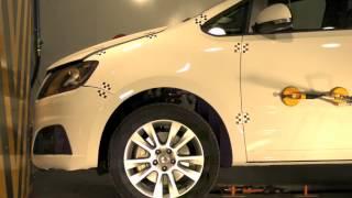 Crash test delantero Seat Alhambra