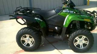 7. 2012 Arctic Cat 550I LTD Arctic Green Metallic