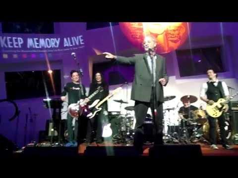 Bill Murray, amazing, funny at Kerry Simon charity