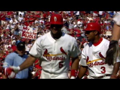 Video: Albert Pujols' three-run homer gives Cards the lead