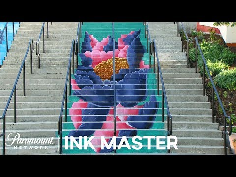'Stair Masters' Flash Challenge Preview   Ink Master: Return of the Masters (Season 10)