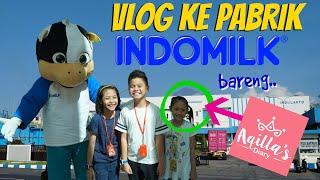 Video Vlog Drama Kunjungan ke dalam Pabrik Susu Botol Indomilk Terbesar! | TheRempongsHD MP3, 3GP, MP4, WEBM, AVI, FLV Mei 2019
