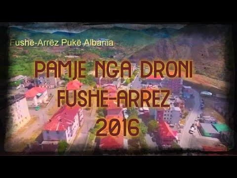 Fluturim me Dron ne Fushe-Arrez