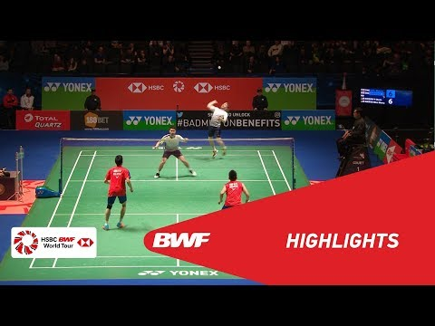 YONEX All England Open 2018 | Badminton MD - R16 - Highlights  | BWF 2018 (видео)