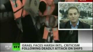 TV Debate with Omar Barghouti on Russia Today, following Turkish Flotilla Incident (2012)