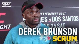 Derek Brunson Thinks Yoel Romero Should Have 'Earned' Title Shot - MMA Fighting by MMA Fighting