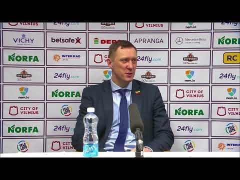 """SIL–Karaliaus Mindaugo taurės rungtynių komentarai: """"Lietuvos rytas"""" - """"Juventus"""" [2017-02-14]"""