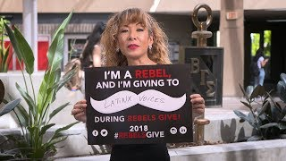 Leslie Mujica: I\'m a Rebel, and I\'m Giving To...