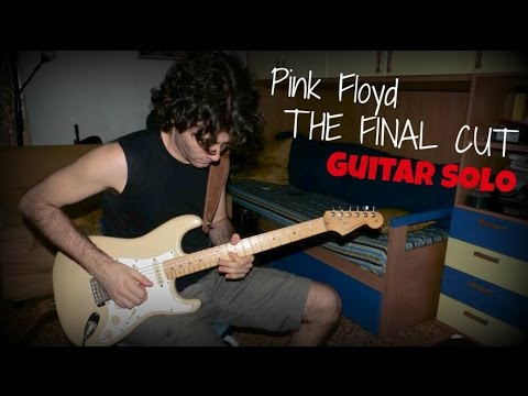 Pink floyd - The final cut [Guitar solo]