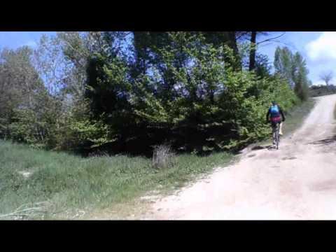 Ruta en bici por el monte de Cantabrana a Salas de Bureba