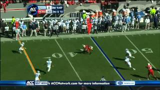 Zach Brown vs NC State (2011)