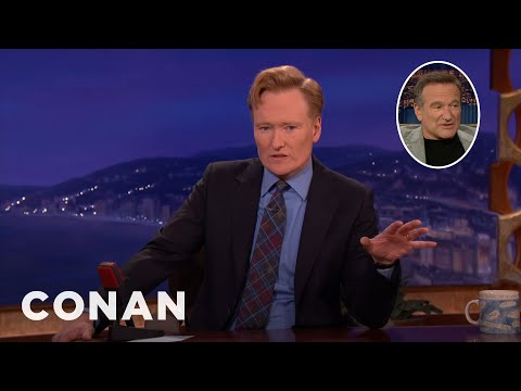 Conan Remembers Robin Williams