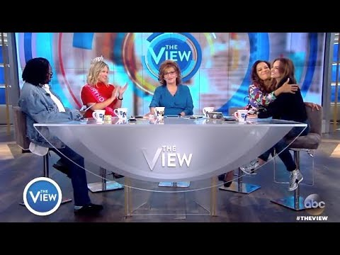 Jedediah Bila - Surprise Announcement Her Last Day (The View)