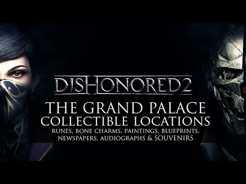 Dishonored 2 • Mission 8 Collectibles • Runes, Bonecharms, Paintings, Blueprints, & MORE