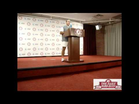 0 Nick Saban News Conference Week 5 Florida game