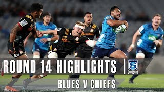 Blues v Chiefs Rd.14 2019 Super rugby video highlights | Super Rugby Video Highlights