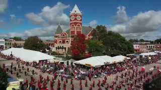 A time-lapse video of the The Swiss Colony Cheese Days Parade 2014 from the southwest corner of Monroe's historic downtown ...