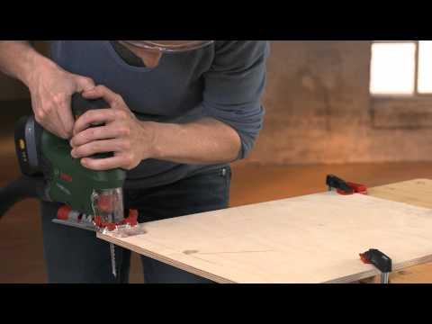 Bosch Stichsäge PST - Kurvenschnitt - Anwendungsvideo