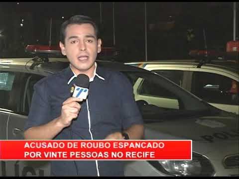 [RONDA GERAL] Acusado de roubo é espancado por 20 pessoas no Recife