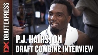 P.J. Hairston Draft Combine Interview