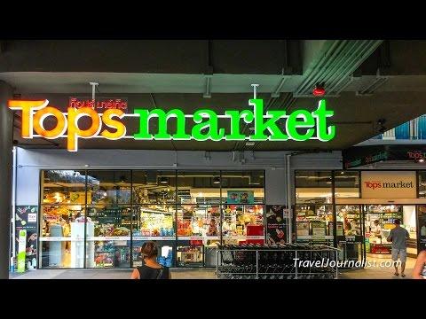 Tops Market Food @ Central Festival Koh Samui Thailand