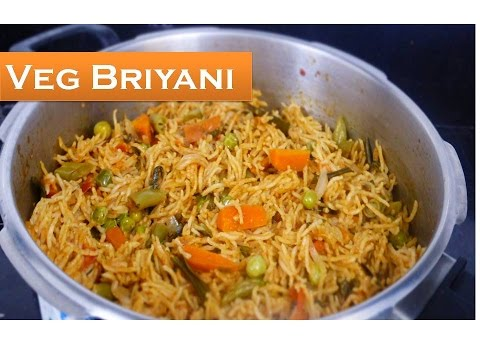 How To Make Quick Vegetable Briyani In Tamil | Deepstamilkitchen