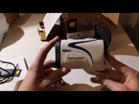 Nikon Coolshot Laser Rangefinder Unboxing