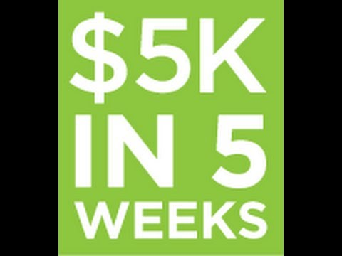 New Money Promotions-Make 5K in 5 Weeks with Isagenix Business Opportunity