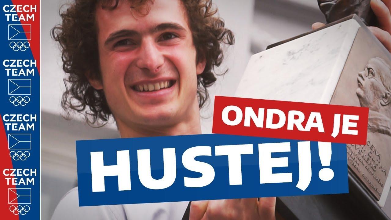 ADAM ONDRA je hustej! Nový držitel ceny od sportovců za rok 2017