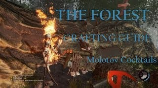 The Forest (Survival Horror Sandbox Crafting PC Game) Tutorial Crafting Guide: Molotov
