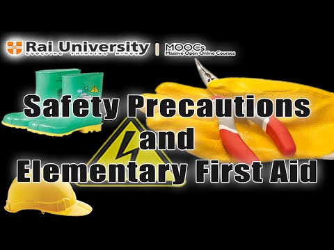 Safety Precautions And Elementary First Aid - Learn To Be An Electrician