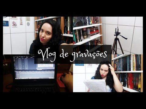 Vlog de gravações | VEDA 18 | Um Livro e Só