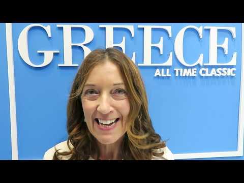 Η Βικτώρια Χίσλοπ διαφημίζει την Ελλάδα στα ελληνικά
