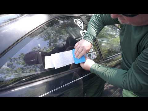 HOW TO APPLY A STICKER OR VINYL DECAL THE DRY METHOD WAY with STICKERPIGGY.COM
