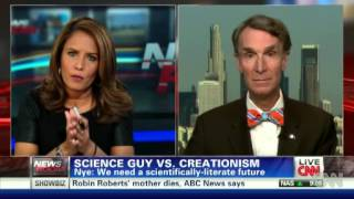 Bill Nye on Creationism