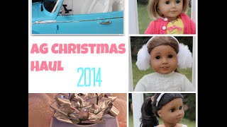 AG Christmas Haul 2014! |New Doll|