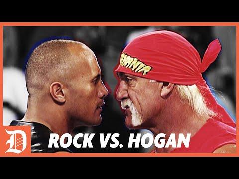 The Rock vs. Hulk Hogan Retold by Johnny   DEADLOCK Podcast Highlights
