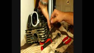 10. How to rebuild an atv part 3 top end disassemble