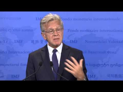 Ο εκπρόσωπος του ΔΝΤ Τζέρι Ράις για την Ελλάδα