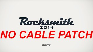 Buy cable: http://goo.gl/O2wJyX Links: http://izzylaif.com/en/?p=1423 How to play Rocksmith 2014 without original Realtone cable.