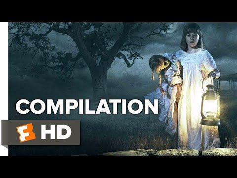 Annabelle: Creation ALL Trailers + Clips (2017) | Movieclips Trailers