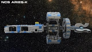 NCS Aries-K - LEGO Spaceship Overview