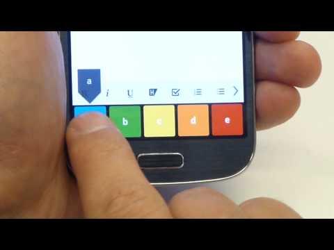 Video of 5-TILES Keyboard