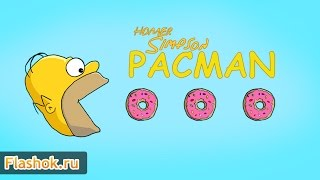 Видеообзор Homer Simpson Pacman