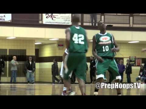 Missouri Tiger commit Wes Clark 2013 at the Romulus Holiday Classic