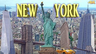 NEW YORK , MANHATTAN - BEST OF NEW YORK 4K