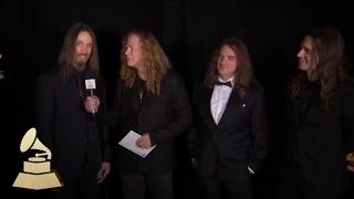Megadeath | Backstage | 59th GRAMMYs